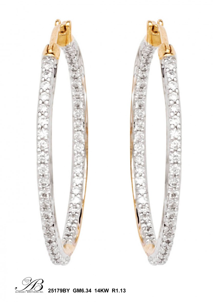 d859b2639 Alishaev Brothers Inc. Jewelry Earrings